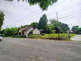 Cocok Rumah Usaha, Beli Tanah Kavling Depan SMA di Kalasan