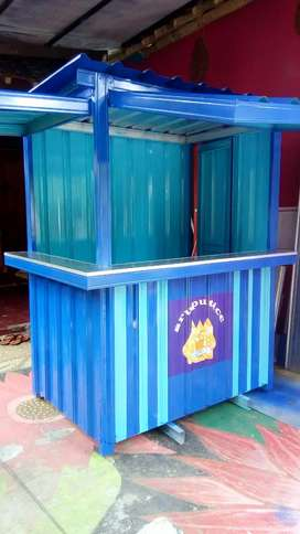 PROMO NEW NORMAL Booth /gerobak container kontainer murah jogja 17