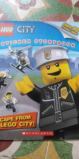 Sticker story book