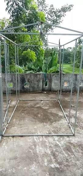 Cage frame