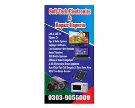We have LED TVs repairing experts' team, for all kinds of goods