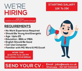 Accountant - Admin Officer