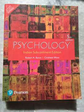 Psychology book by Robert Baron