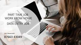 HANDWRITING JOB/TYPING JOB-PART TIME JOB