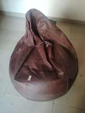 XL Size Brown Colour Godrej Comfy Bean Bag