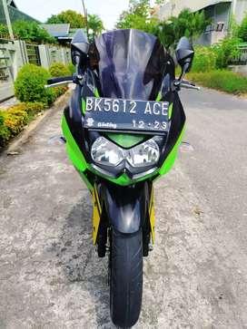 Kawasaki Ninja 250 Tahun 2011 kondisi terawat