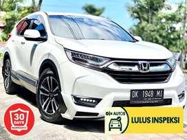 [Lulus Inspeksi] Honda CRV TURBO PRESTIGE 1.5cc matic putih asli bali
