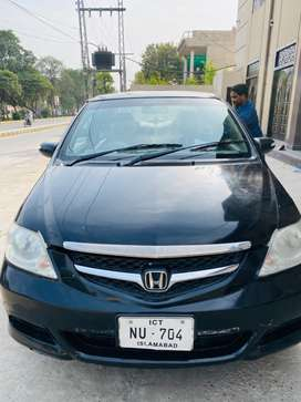 Honda city black colour