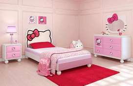 Hello Kitty Bed Room Setup for your little princess in Kids Furniture.
