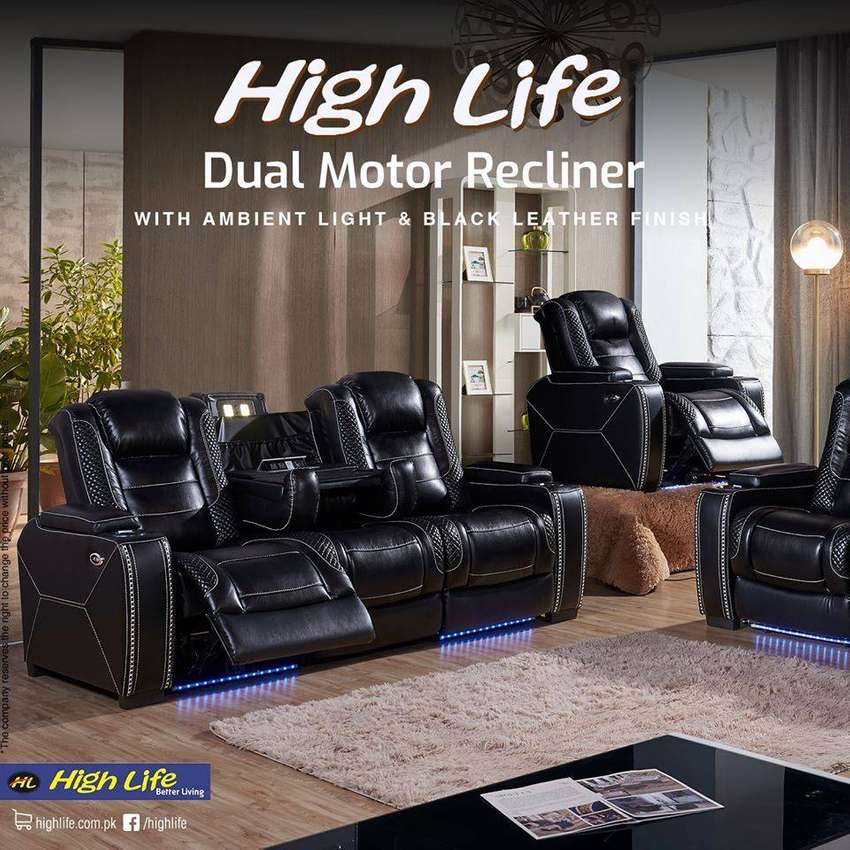 Double motor Recliner Model 150 Imported