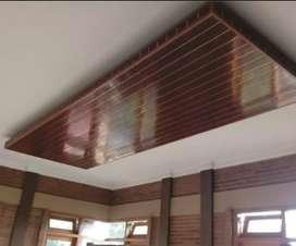 Pemasangan plafon PVC rumah kerja berpengalaman