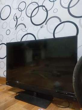 Toshiba 32 inch gambar mati suara normal