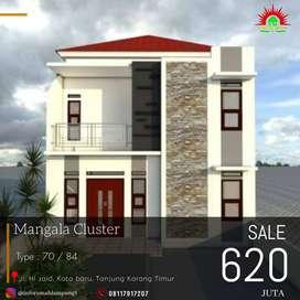 PROMO Rumah 2 Lantai !! Dijual Murah di tanjung karang timur