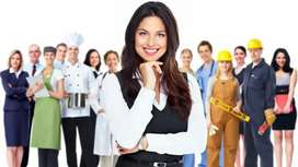 Female Staff for Receptionist