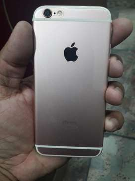 Apple i phone 6 s rose gold with match box in gujranwala city