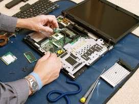 Laptop & Desktop Same Day Repair Service - No Visiting Charge