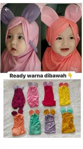 jilbab anak bayi balita