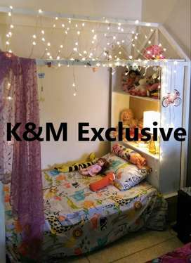 K&M Kids Hut Shaped Bed