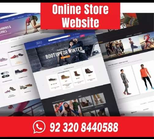 Complete Online Store with latest design and features for all business
