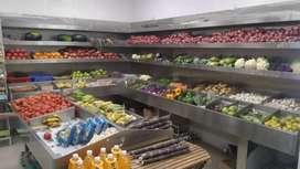 Biling at vegetable shop