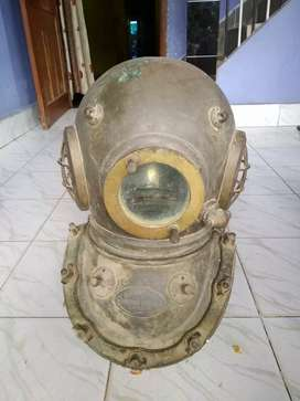 Seibe gorman 12 bolt submarine helmet