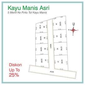 Beli Tanah Perumahan 800 Meter Jl Raya Bogor 12x Angsur Tanpa Bunga
