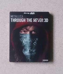 Bluray Combo Steelbook 3D/2D Metallica Through The Never