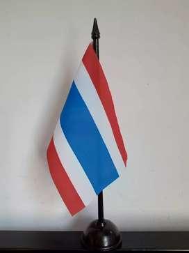 Bendera Meja Negara Thailand Koleksi Pajangan Rumah Dari Traveling