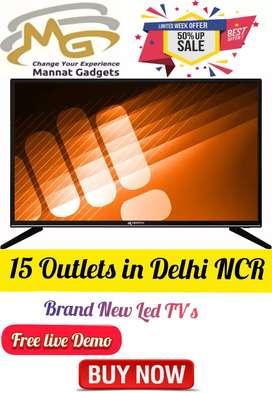 42 inch smart LED TV << [Slim Design] << Quad core processor