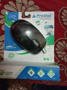 Pro dot optical Mouse brand new