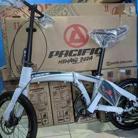 sepeda lipat pacific noris 2.0 NEW not polygon united thrill bisa cod