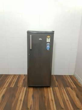 5 star rating refrigerator gray color light used in good condition