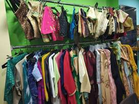 RUNNING RENTAL SHOP SALE WITH FURNITURE AND LADIES GARMENTS...
