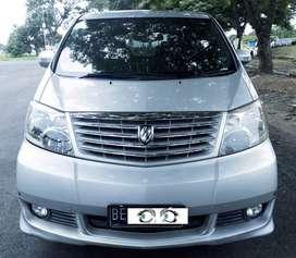 Toyota Alphard 2.4 Th 2005 Harga Avanza Xenia Innova BE Lampung Selata