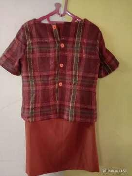 Baju blouse kerja sepasang