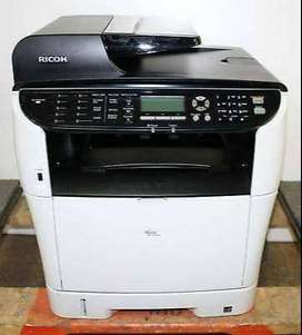 Print /., speeds upto /. 18 ppm A4 Photocopier and Printer and Scanner