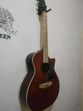 Gitar cort akustik elektrik kastem