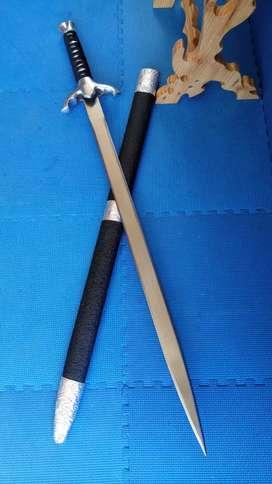 Pedang Hias Model Pokyam Tajam 2 Sisi