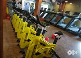 Gym spin bike n trademill wholesale