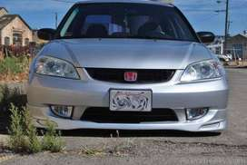 Body kits  for Honda civic 2004 in Fiber Material