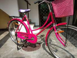 Brand bicycle of girls