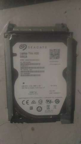 Hardisk laptop 500GB seagate Normal 100%