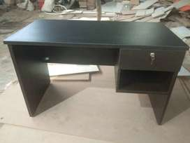 4x2 table with single drawer cupboard