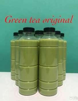 Minuman thai tea dan green tea 330ml