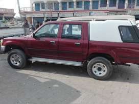Toyota D/C red colour