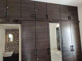 Beautiful 2 bhk semi furnished flat near Atmiya College,Kalawad Road