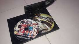 Playstation 2 with 2 free cd's