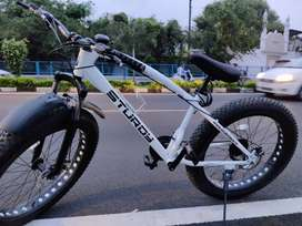 Sturdy fat tyre  bicycle