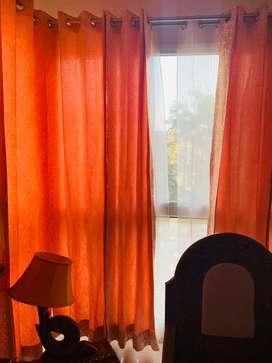 10 peach colour curtains 1 year old
