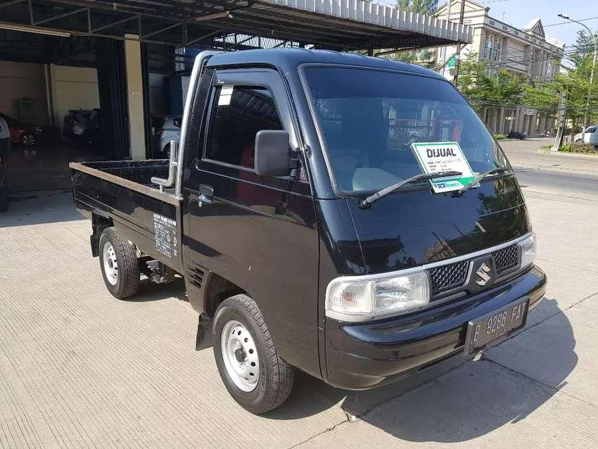 Suzuki Carry Futura Pickup 1 5 FD 2018 Hitam 0